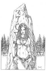 Rune STone by MitchFoust