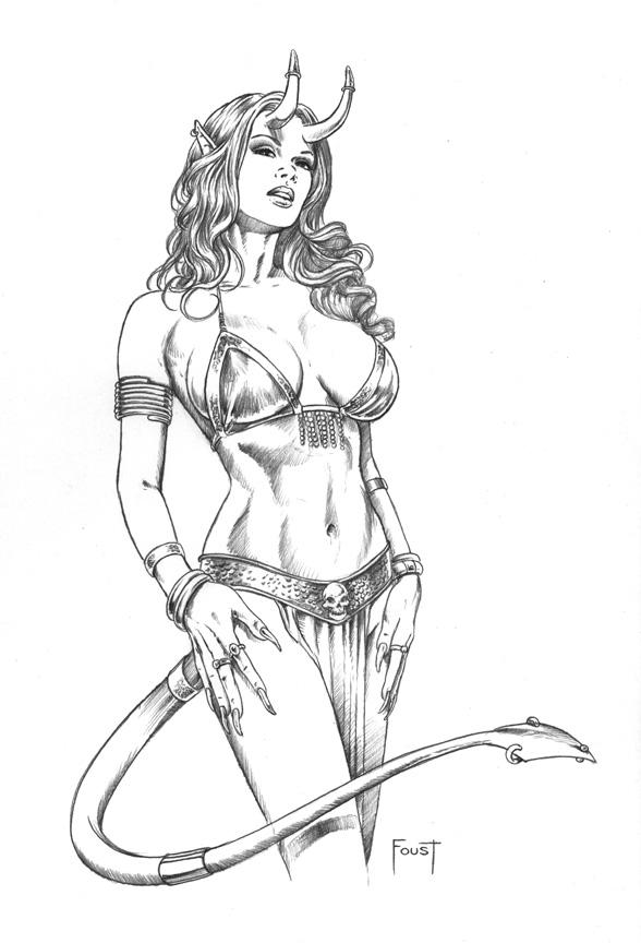 Devil Girl 2 By Mitchfoust On Deviantart