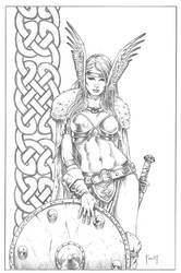 Shield Maiden. by MitchFoust