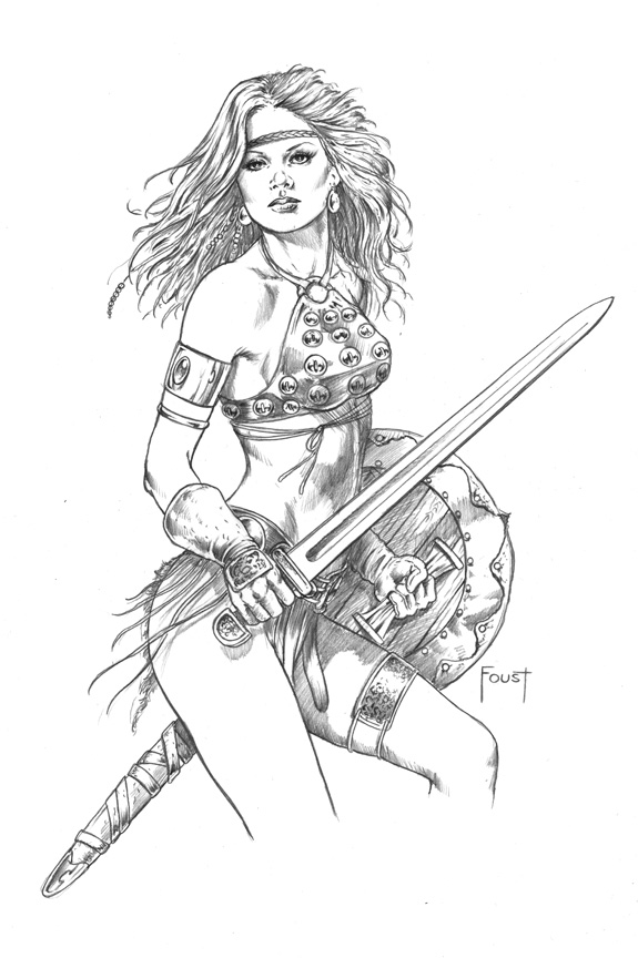 Young Warrior By Mitchfoust On Deviantart