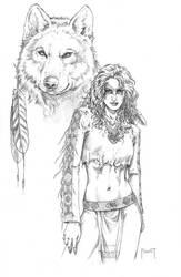 Wolf Spirit by MitchFoust