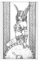 Shield Maiden Brynja by MitchFoust