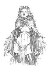 Goblin Queen SDCC Commission