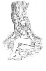 Nanda The Jungle Girl by MitchFoust
