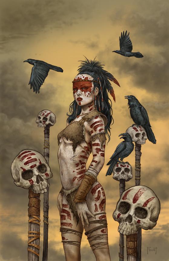 Raven  Spirit by MitchFoust