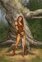 The Chieftain's Daughter by MitchFoust