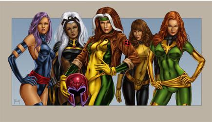 X-Men by MitchFoust