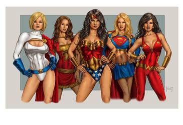 Superfriends 2 by MitchFoust