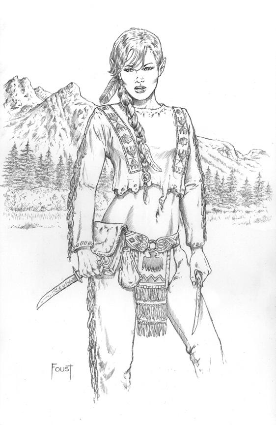 Tribal Elf by MitchFoust