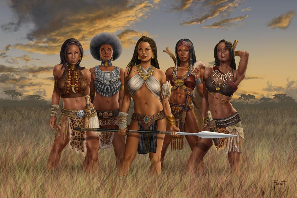 Queens of Nubinora by MitchFoust