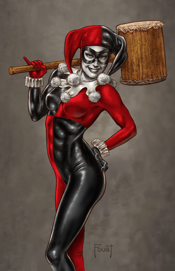 Harley Quinn by MitchFoust