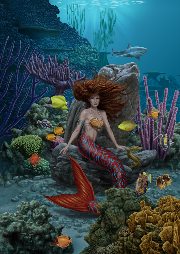 Under the Sea by MitchFoust