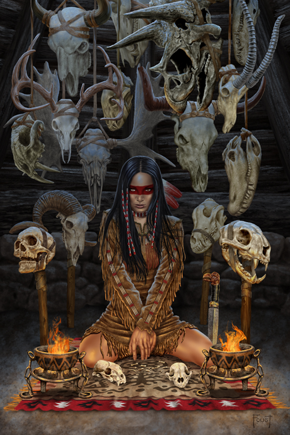 Reader of Bones by MitchFoust