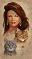 Feline Fatale by MitchFoust
