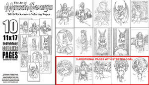 The Art of Mitch Foust Coloring pages