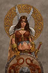 Shield Maiden by MitchFoust