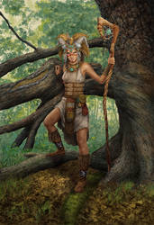 Woodland Magi by MitchFoust