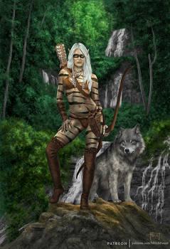 Takala, Wild Elf Hunter