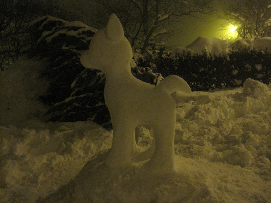 Snow Creation (1) 2013 by TristanTreg