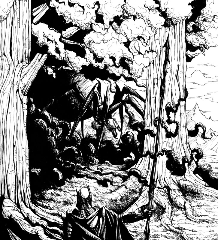Of the Darkening of Valinor by LuisFBejarano