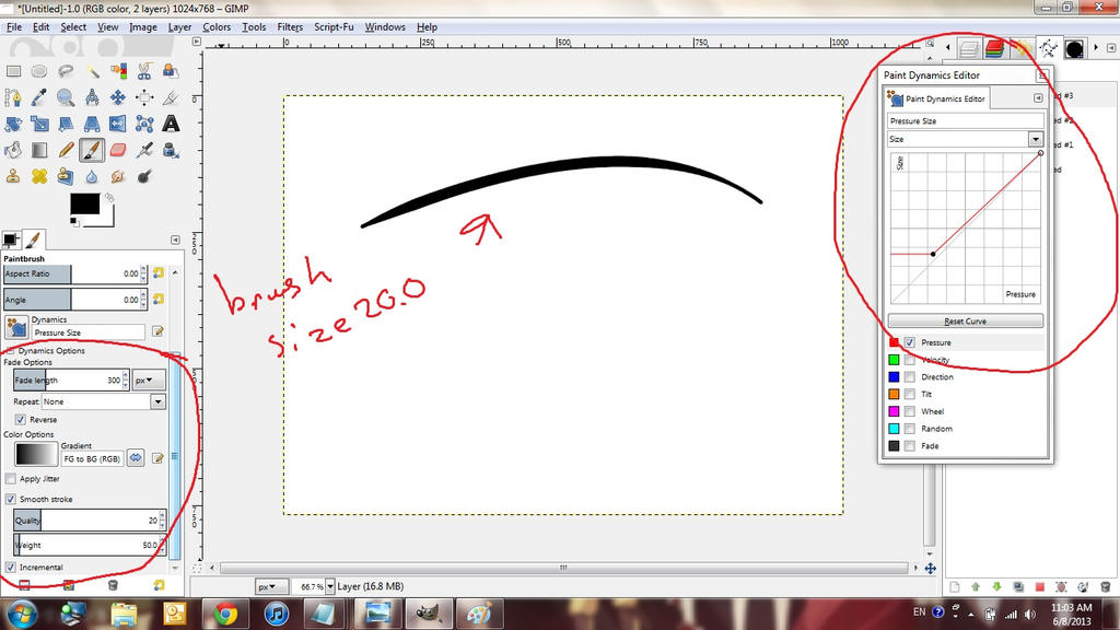 How To Get Paint Brush Effect In Gimp