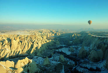 Cappadocia from balloon II by fotoizzet
