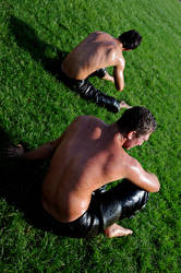 oil wrestling IV by fotoizzet