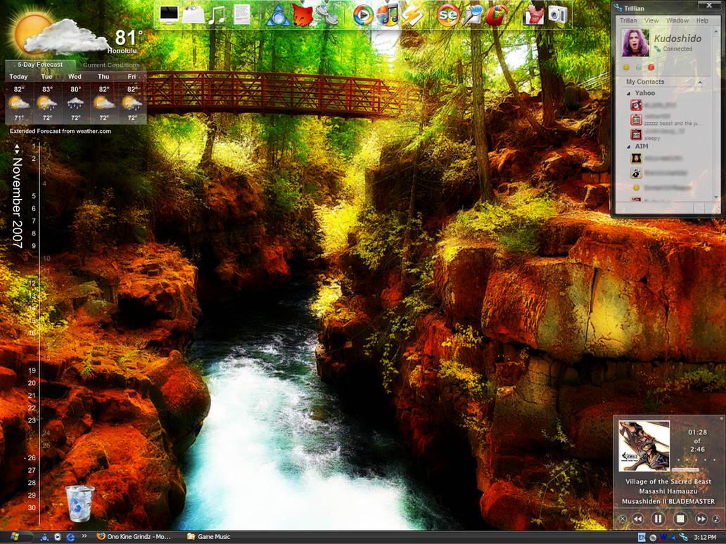 Rogue River Gorge desktop