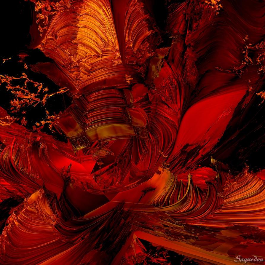 Goyana Red Lotus by Saquedon