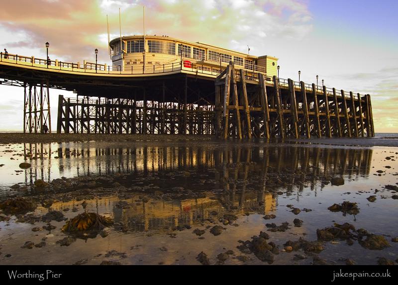 Worthing Pier by JakeSpain
