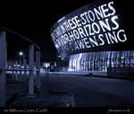 the Millenium Centre, Cardiff.
