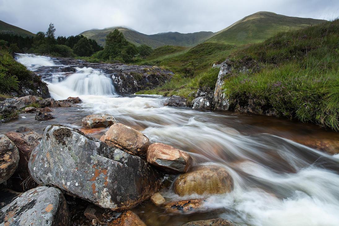 Waterfall, Scotland by JakeSpain