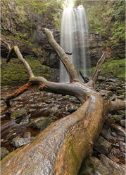 Bat Cave Waterfall by JakeSpain