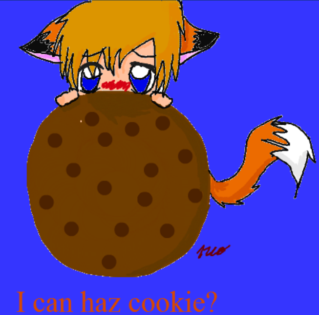I Can Has Cookie? by PrinceNeoShnieder