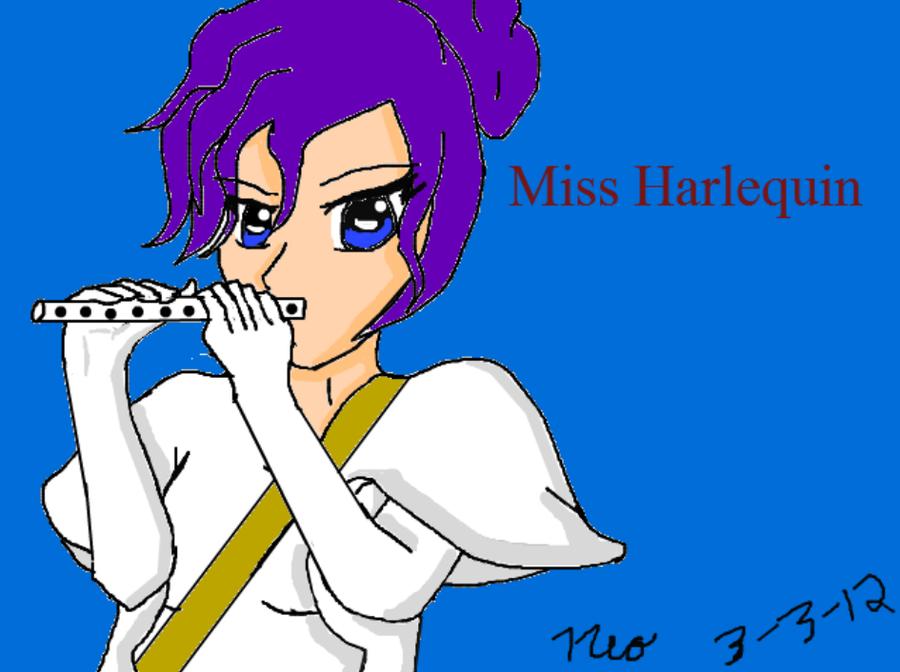 Miss Harlequin by PrinceNeoShnieder