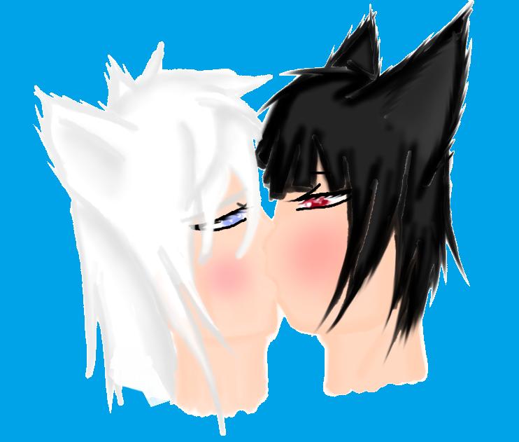 The Kiss by PrinceNeoShnieder