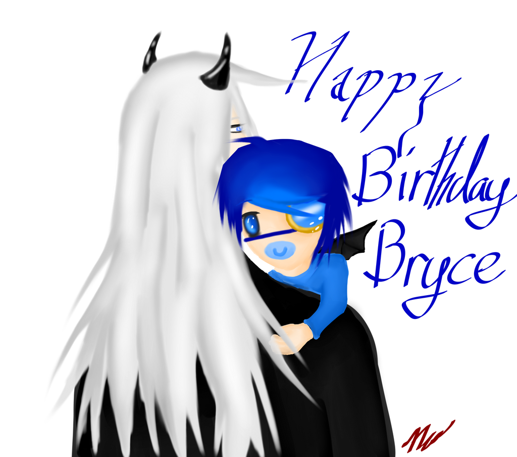 Happy Birthday Bryce by PrinceNeoShnieder