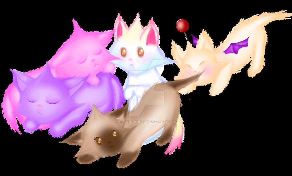 Star Kittens by PrinceNeoShnieder
