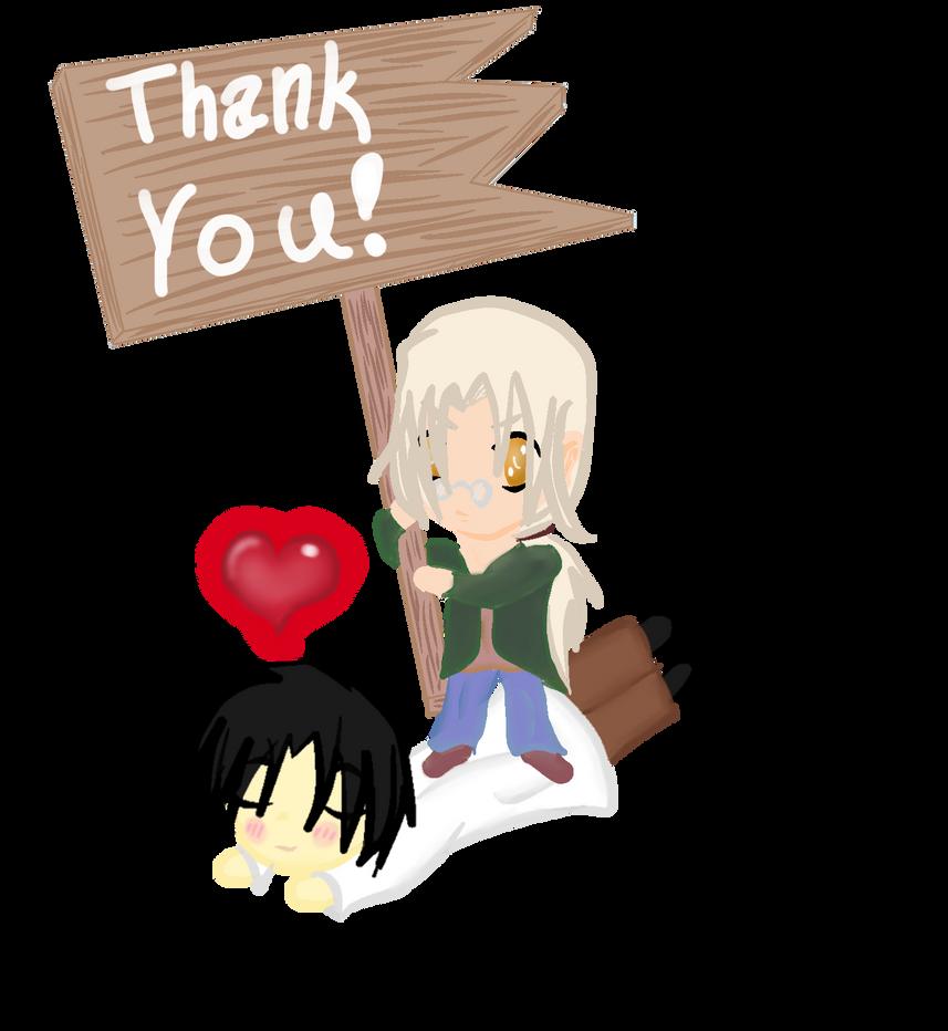 Thank you! by PrinceNeoShnieder