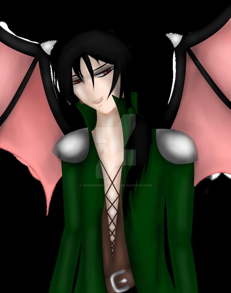 Shikio (OC w/o background) by PrinceNeoShnieder