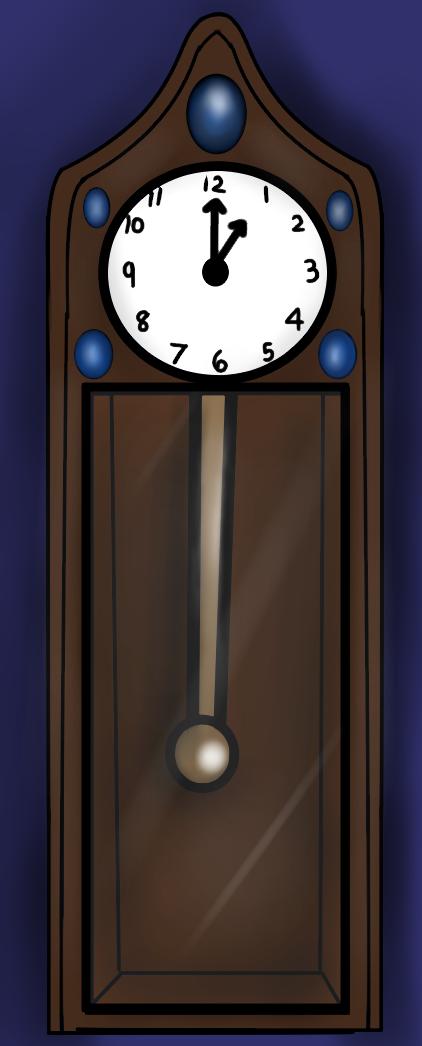GrandFather Clock by PrinceNeoShnieder
