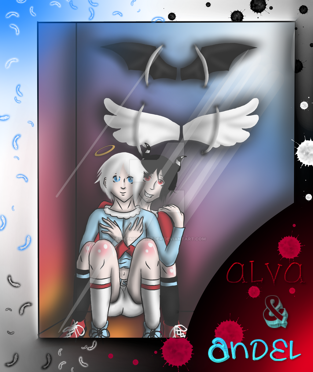 Alva and Andel Dolls by PrinceNeoShnieder