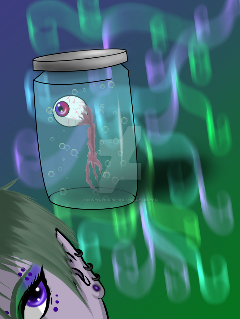 Of Eyeballs and Jars by PrinceNeoShnieder