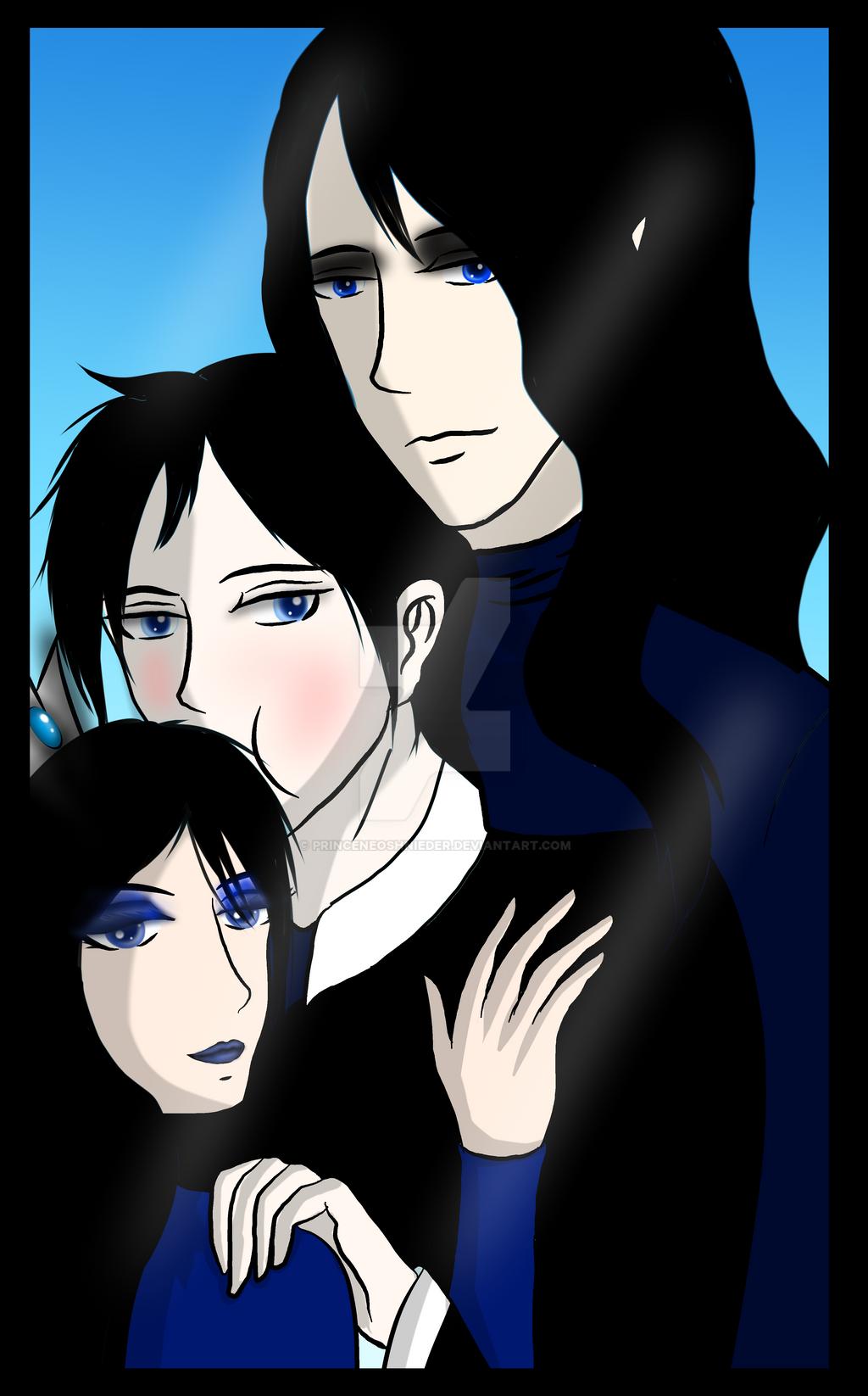 Ysme, Ezera and Azaelion by PrinceNeoShnieder