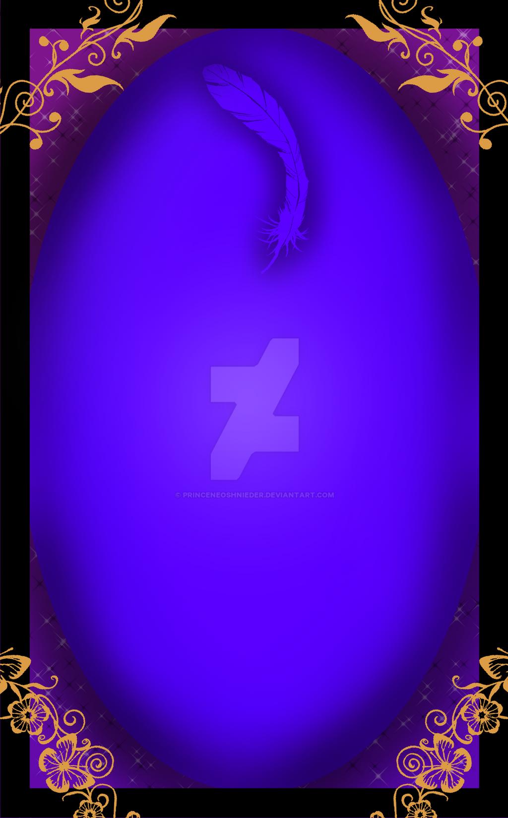 Tarot Card Base by PrinceNeoShnieder
