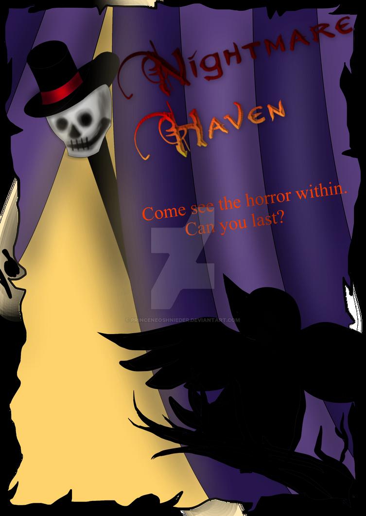 Nightmare Haven Circus Flyer by PrinceNeoShnieder