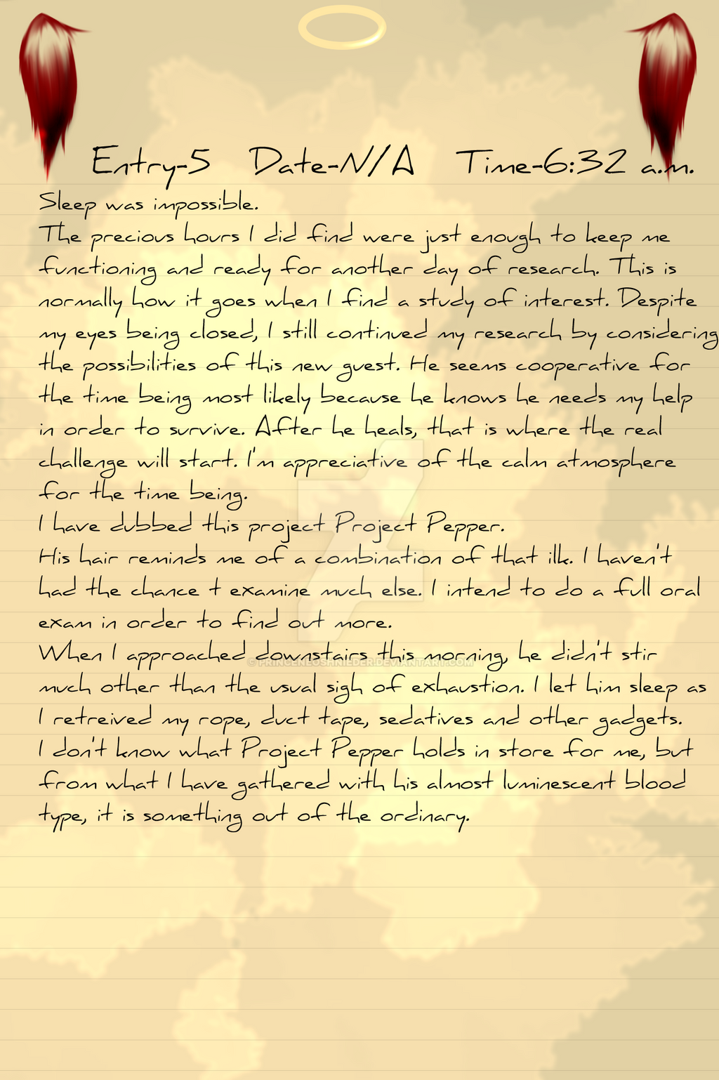 Project Pepper Entry 5 by PrinceNeoShnieder