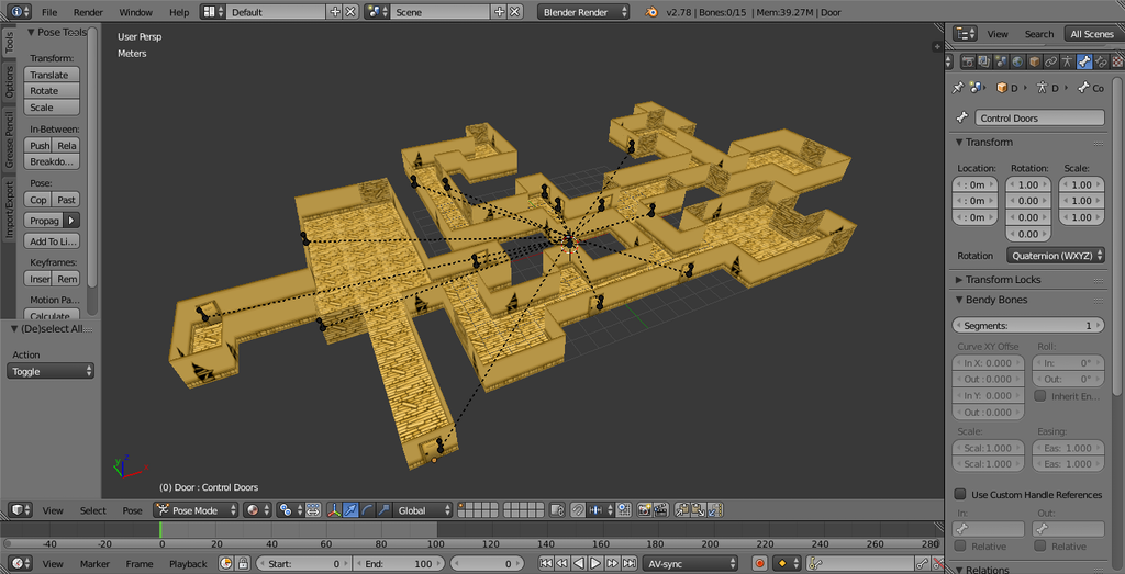Making my own BATIM map by MuhdAminShah