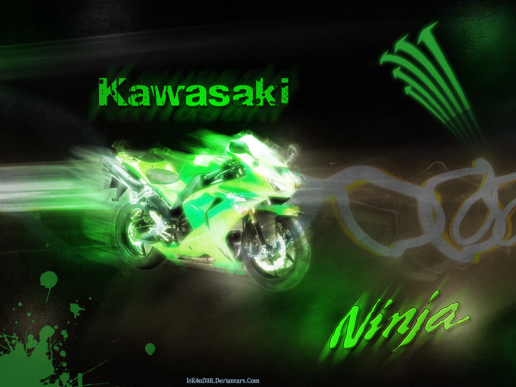 Kawasaki Ninja Wallpaper By IsK4nD3R