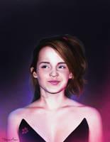 Emma Watson by DausenMoore-Art